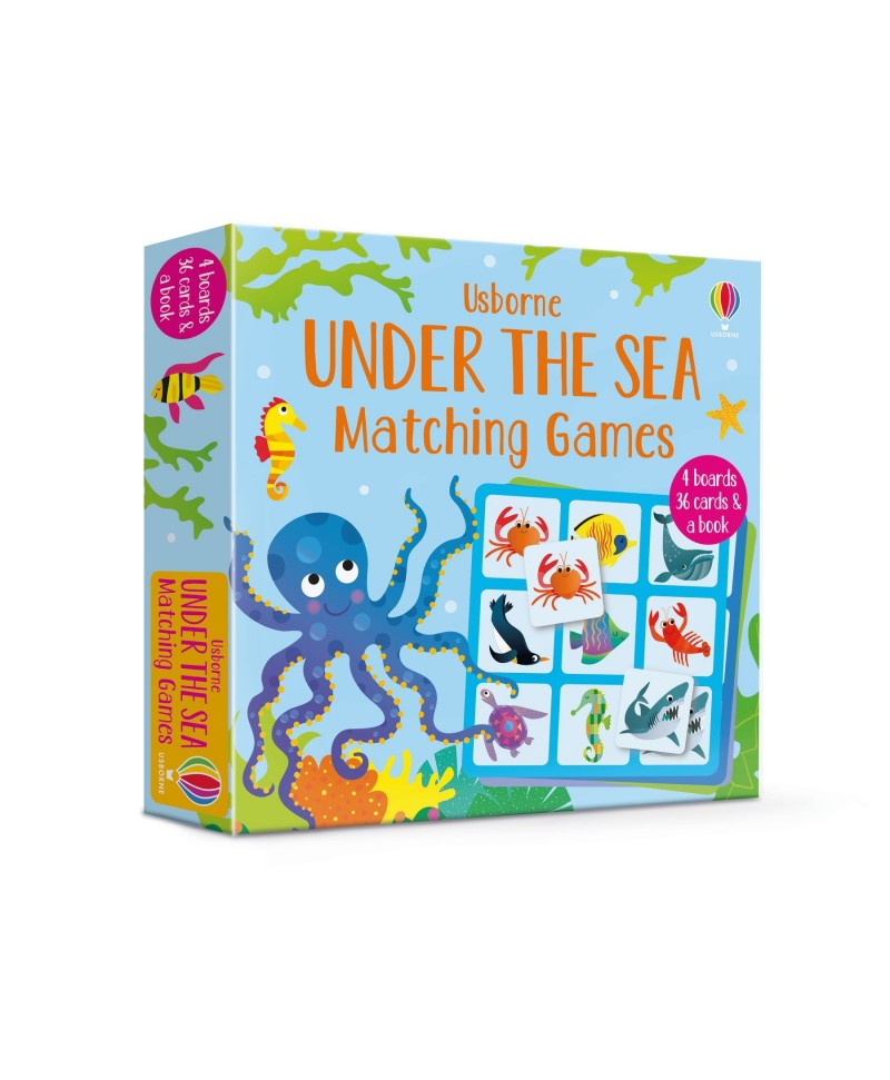 Carte și Joc de potrivire - Under the Sea Matching Games