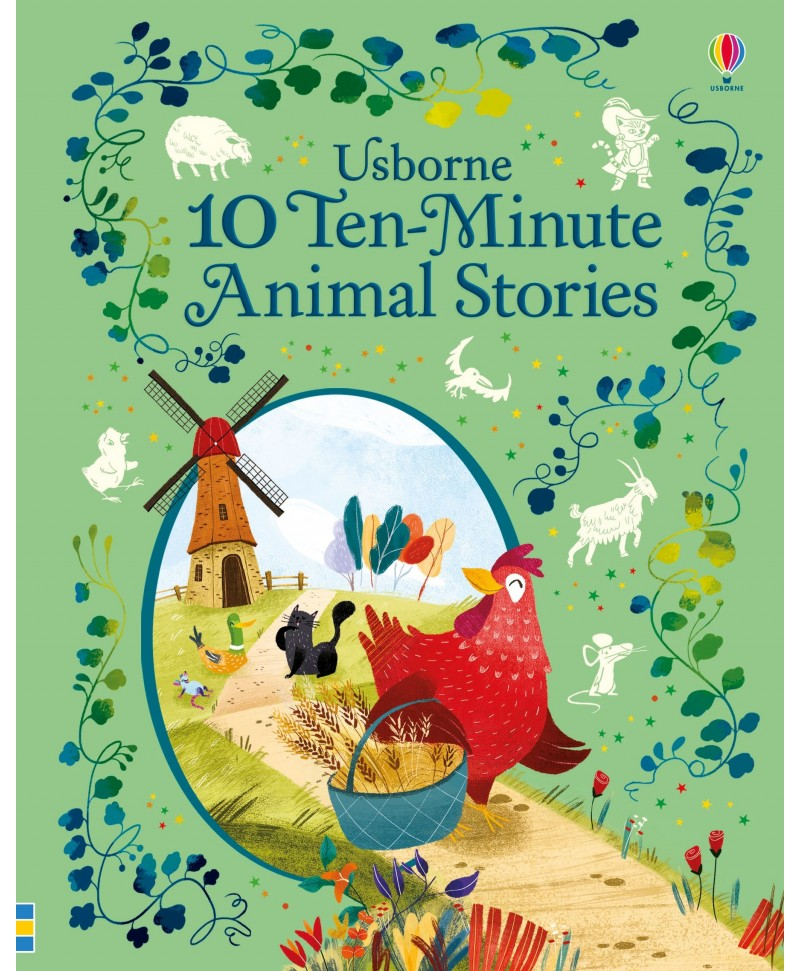 Carte cu povești scurte 10 ten-minute animal stories