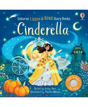 Carte audio Cinderella  - atingi paginile si se aude povestea
