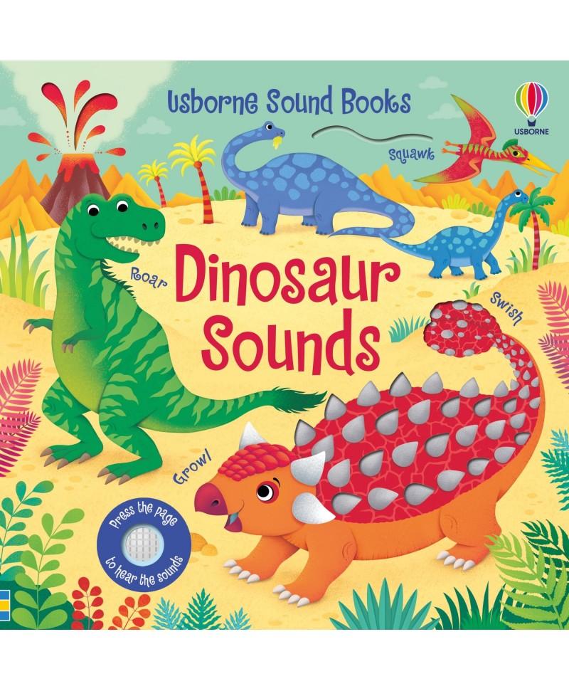 Carte cu sunete de dinozauri Dinosaur Sounds Usborne