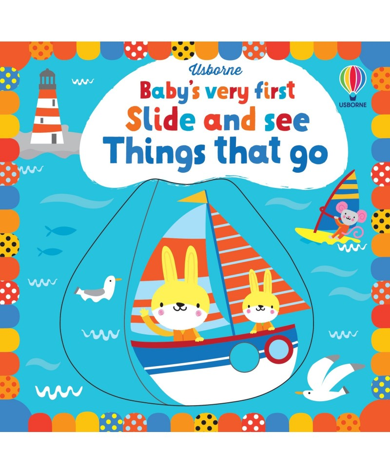 Carte Gliseaza si Vezi Baby's very first slide and see Things that go