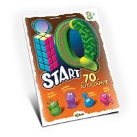 Marea carte de colorat - IQ start 3+ (cu 70 de autocolante)