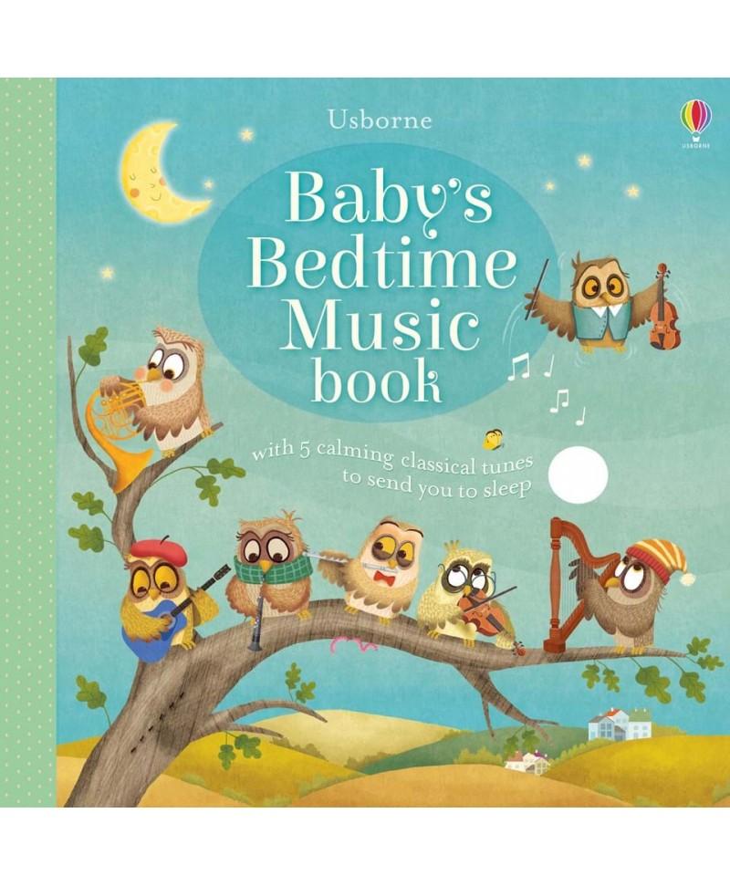Carte de adormit bebelușii Baby's bedtime music book