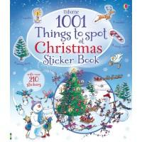Carte cu stickere de Crăciun 1001 things to spot Christmas