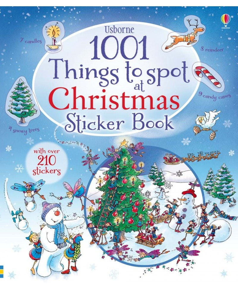 1001 things to spot Christmas