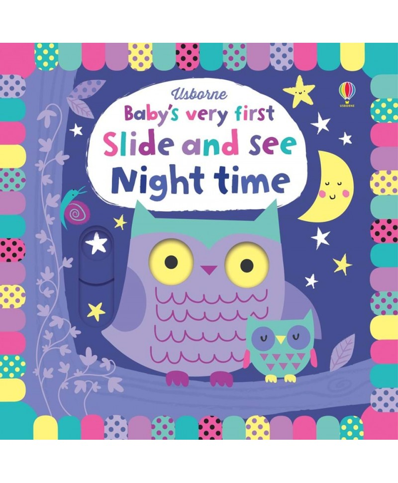 Carte Gliseaza si Vezi Baby's very first slide and see Night Time