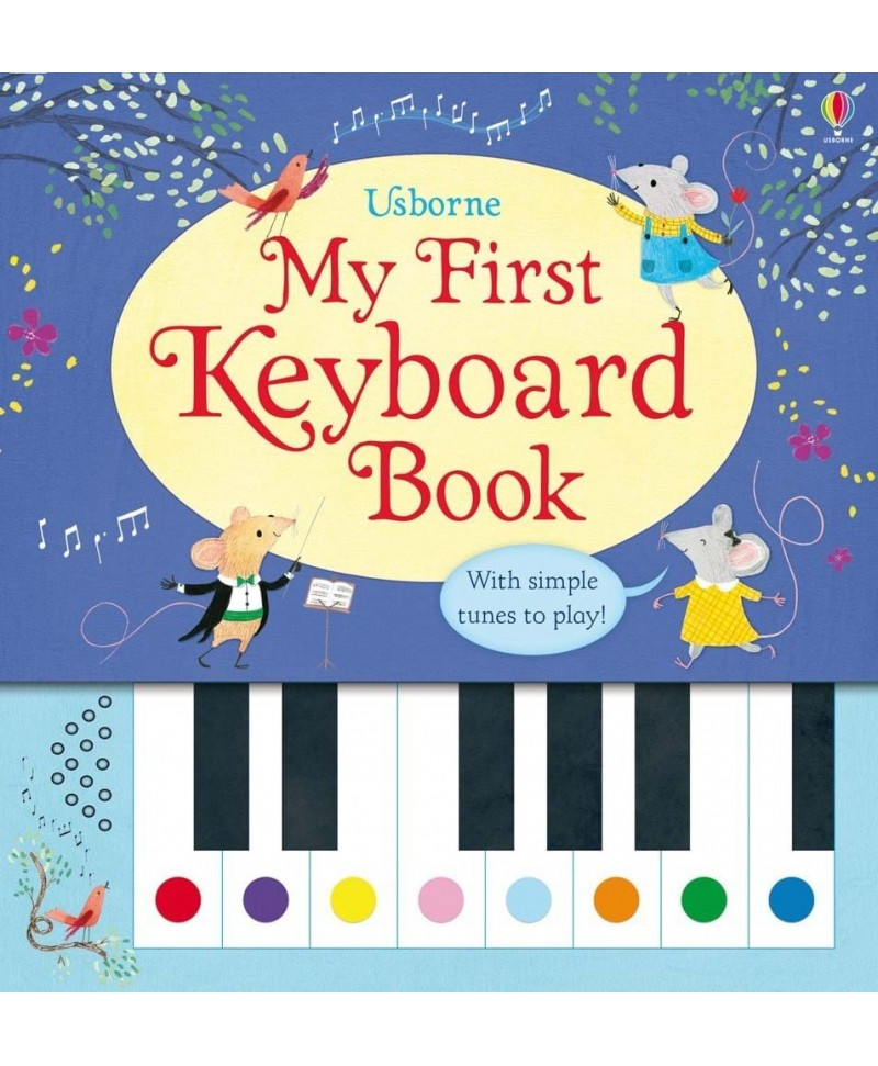 Carte pian  My First Keyboard Usborne