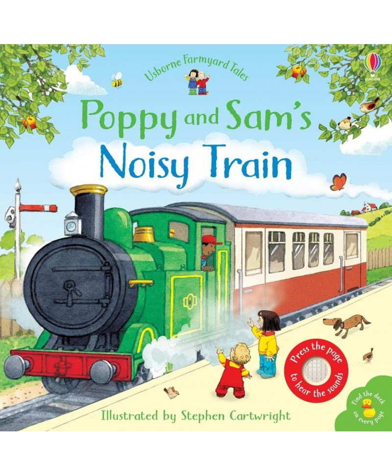 Carte muzicala Poppy and Sam's noisy train