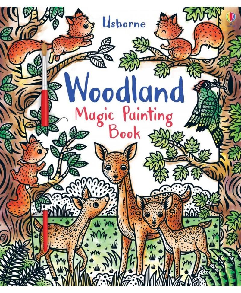 Carte cu pictură magică Magic Painting Woodland