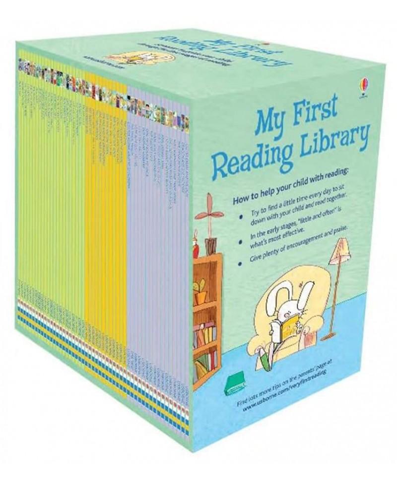 Colecție de 50 cărți pentru copii My first reading library  +3 ani
