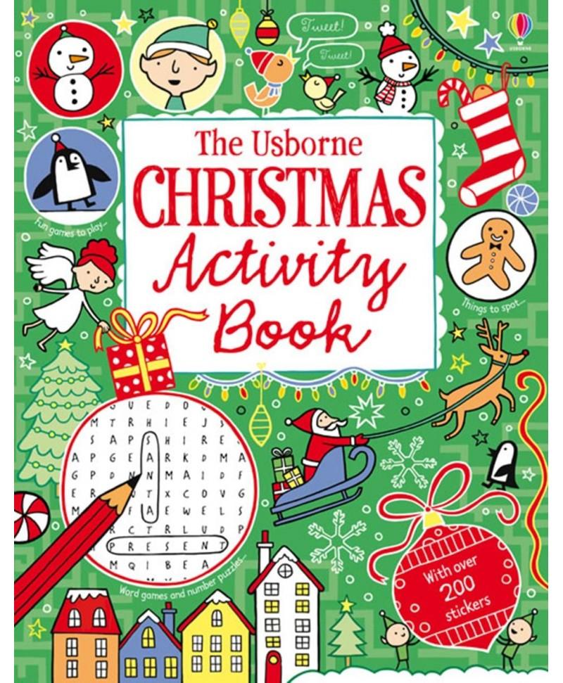Christmas activity book - Carte cu activități de Crăciun
