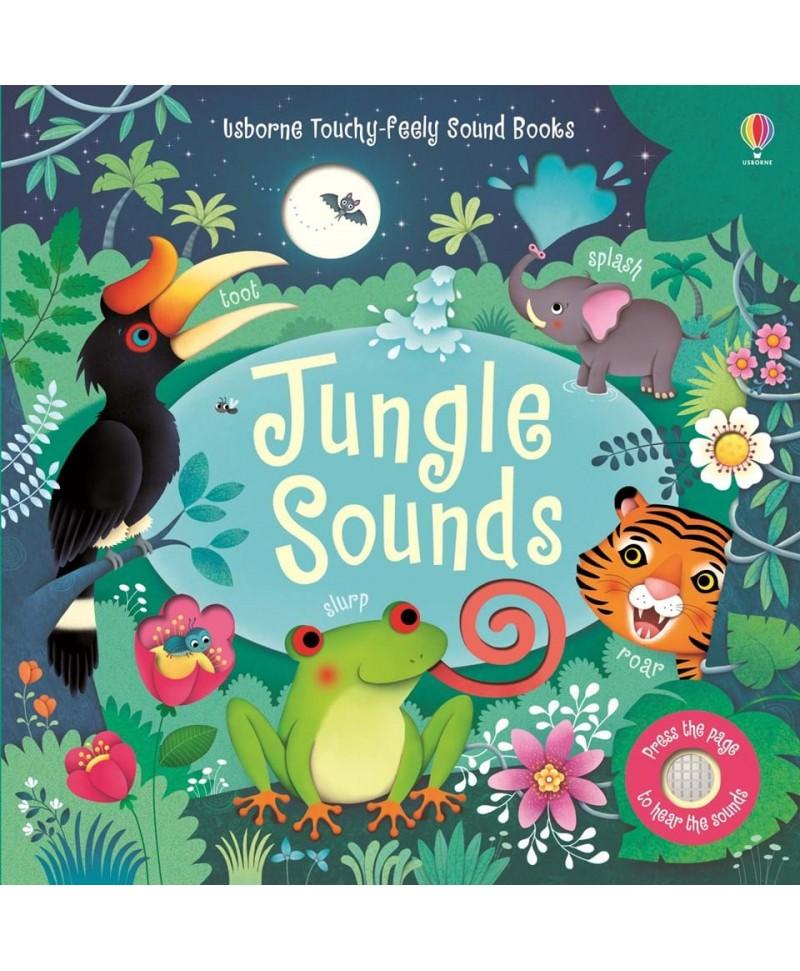 Carte cu sunetele junglei Jungle Sounds