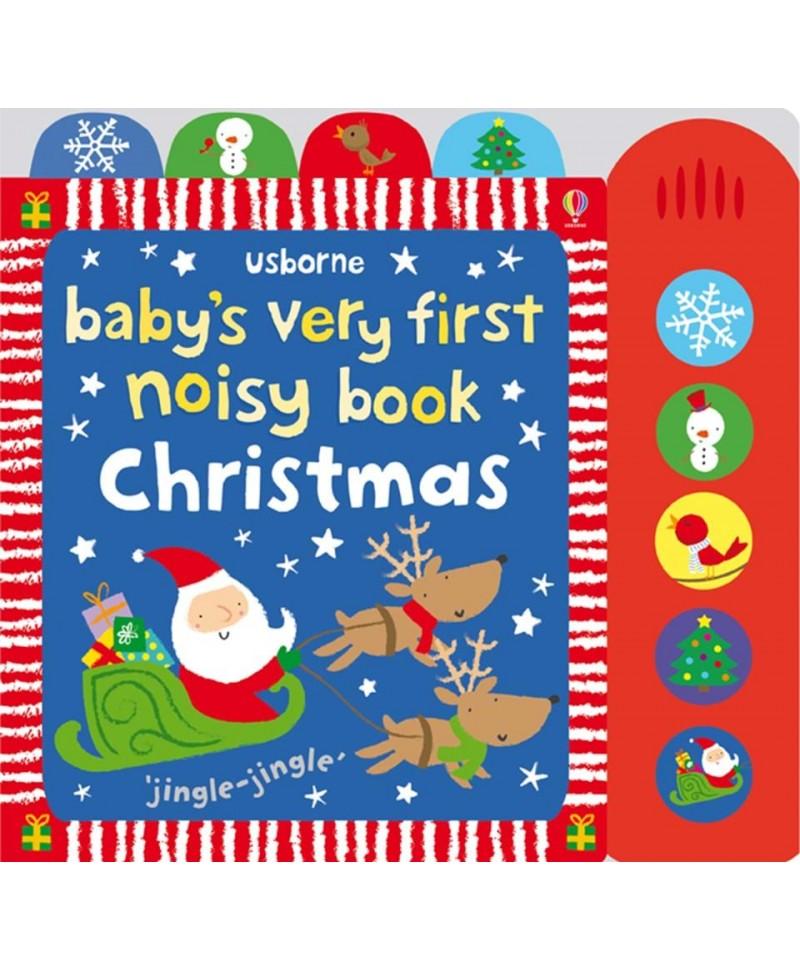 Carte muzicală Baby's very first noisy book; Christmas