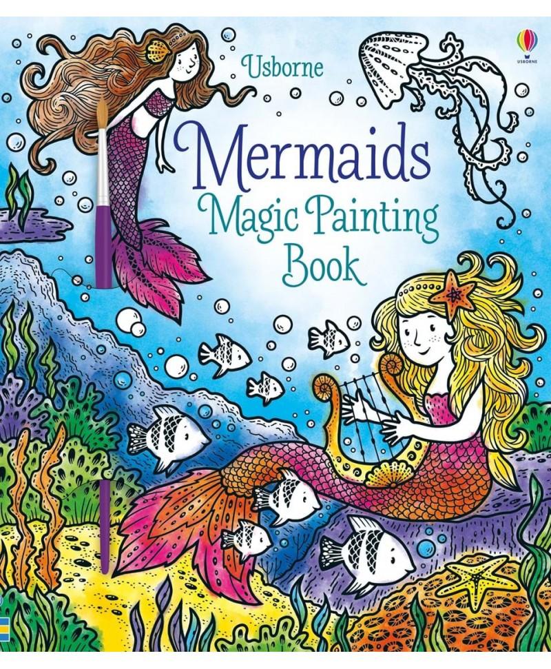Carte cu pictură magică Magic painting mermaids