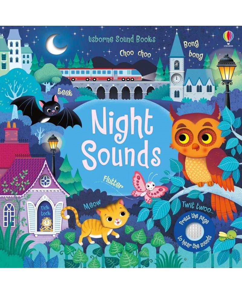 Carte cu sunetele nopții Night Sounds