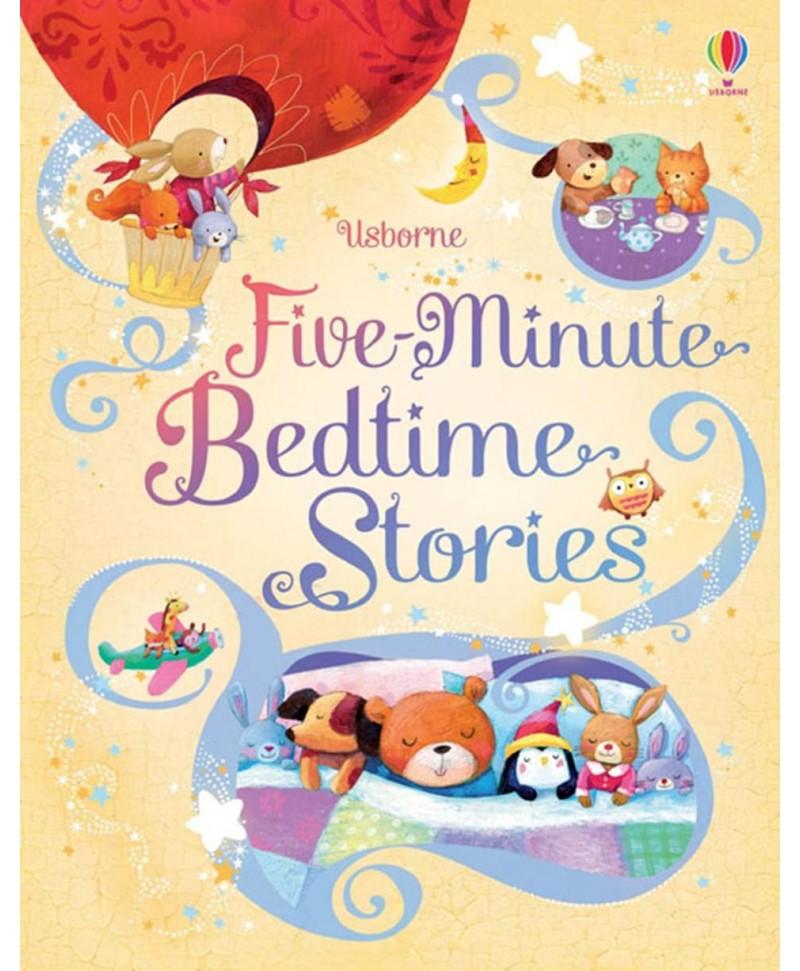 Povești scurte de noapte bună Five-minute bedtime stories Usborne +2