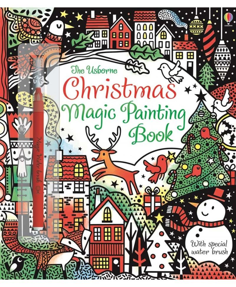 Carte cu pictură magică Christmas Magic Painting