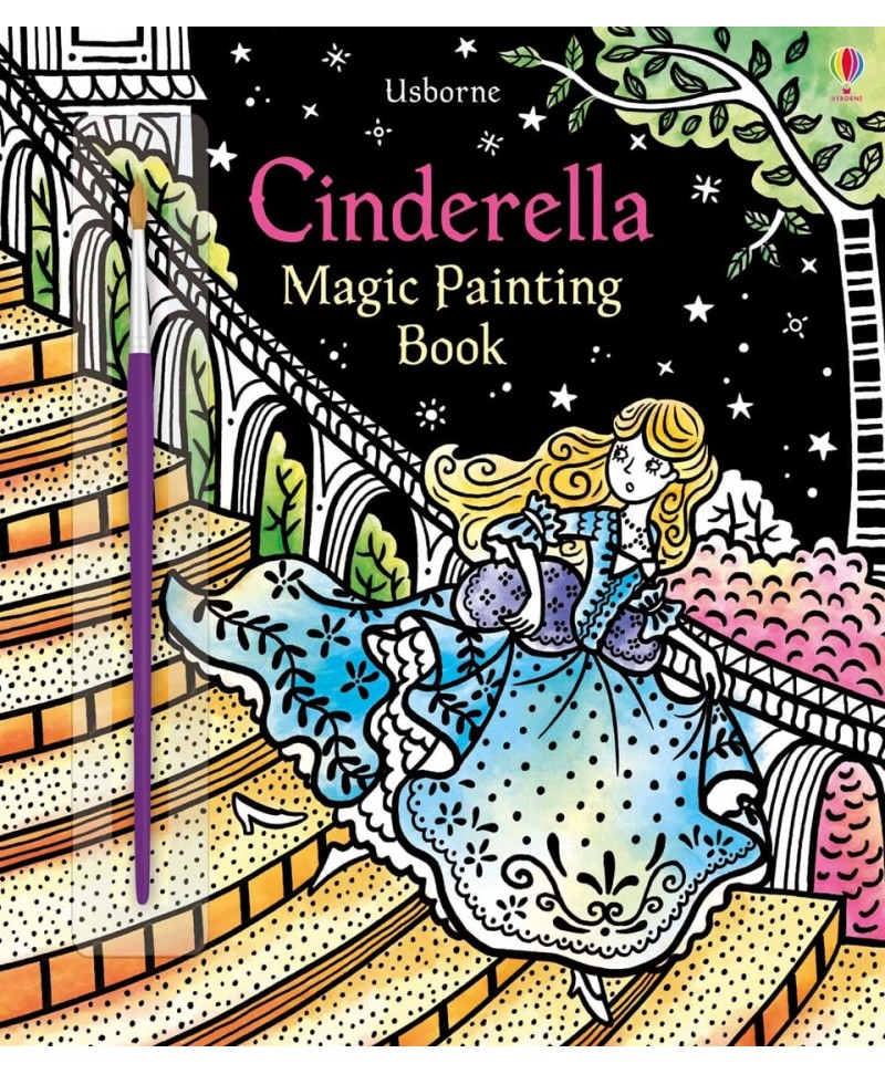 Carte cu pictură magică Cinderella Magic Painting