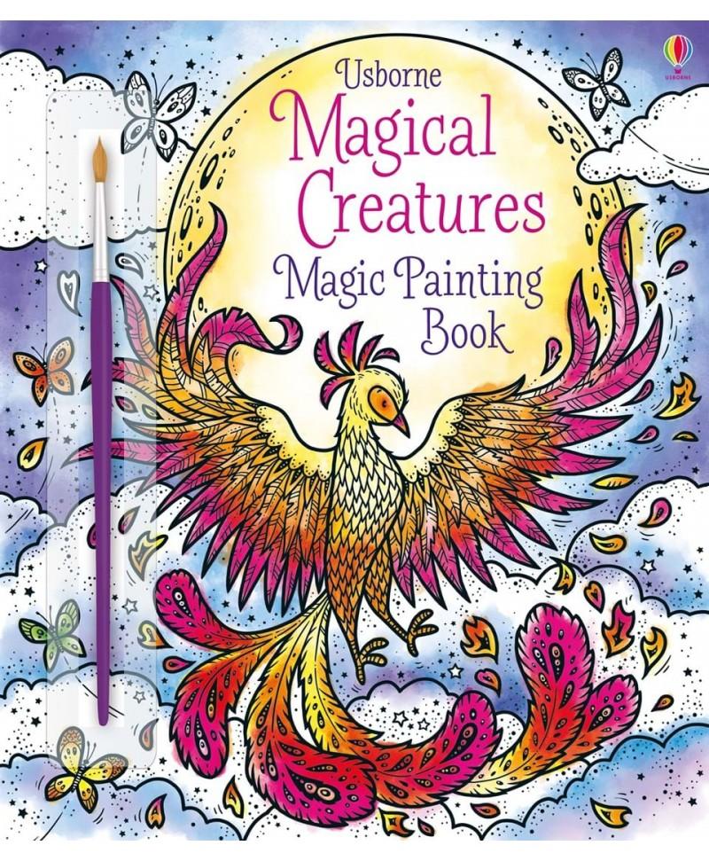 Carte cu pictură magică Magical Creatures Magic Painting