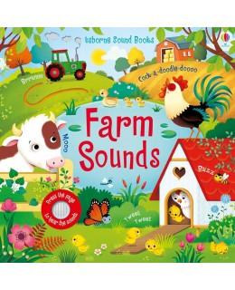 Carte cu sunete de la fermă Farm Sounds Usborne