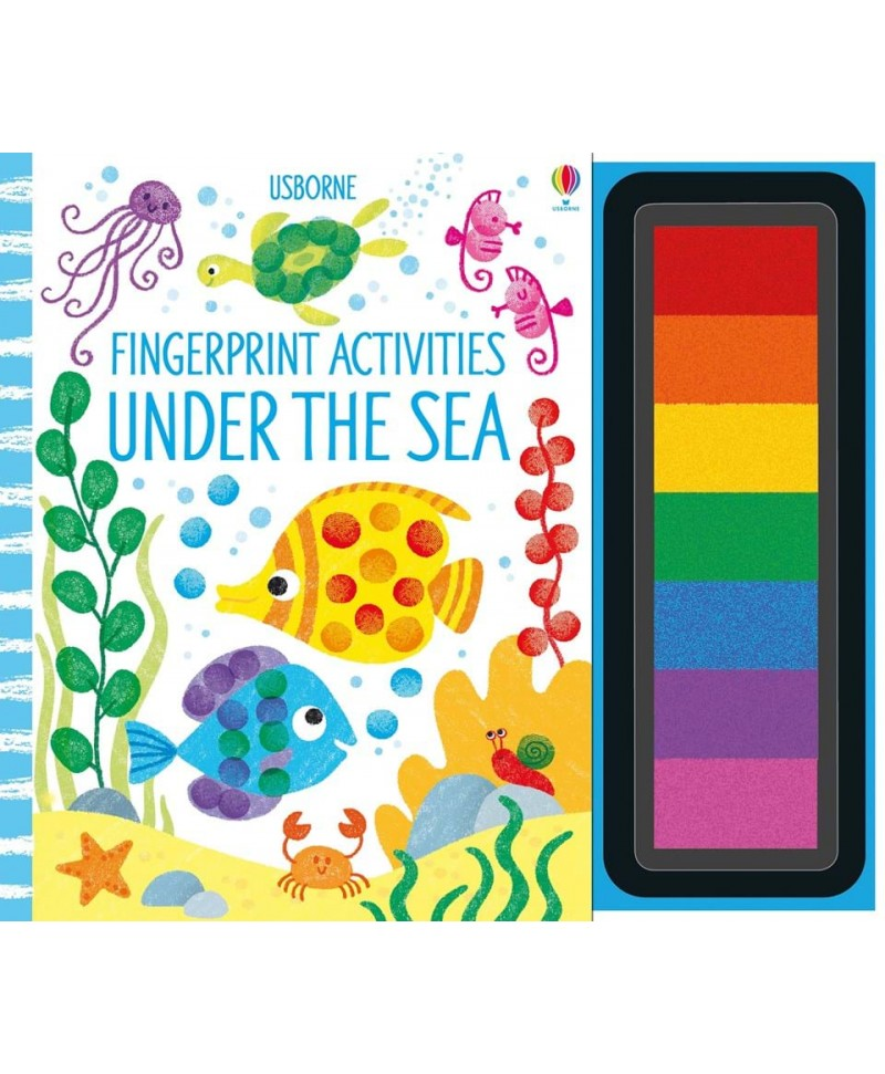 Carte de pictat cu degetelele Under the sea Fingerprint