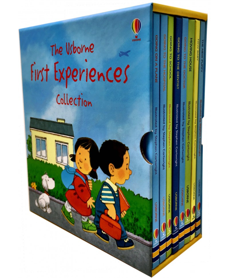 Set 8 carti educative First Experiences Collection
