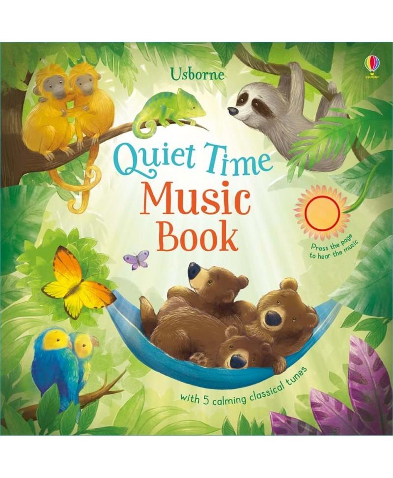 Carte muzicală Quiet time music book