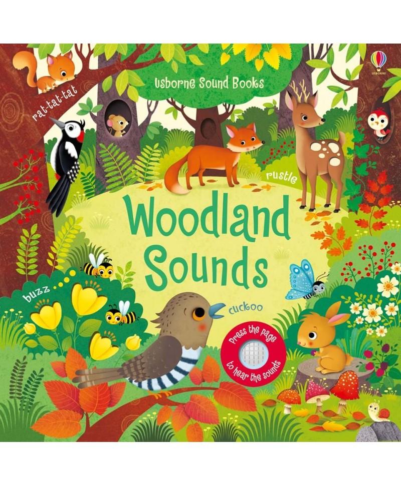 Carte cu sunetele pădurii  Woodland Sounds Usborne