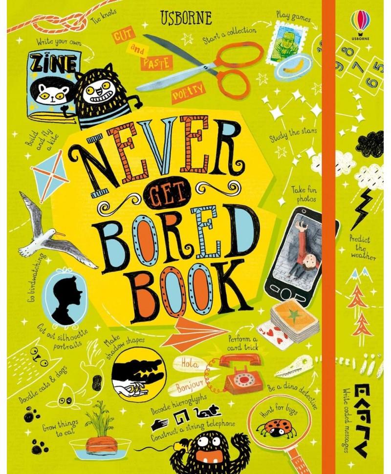 Carte cu activități anti-plictiseală Never get bored book