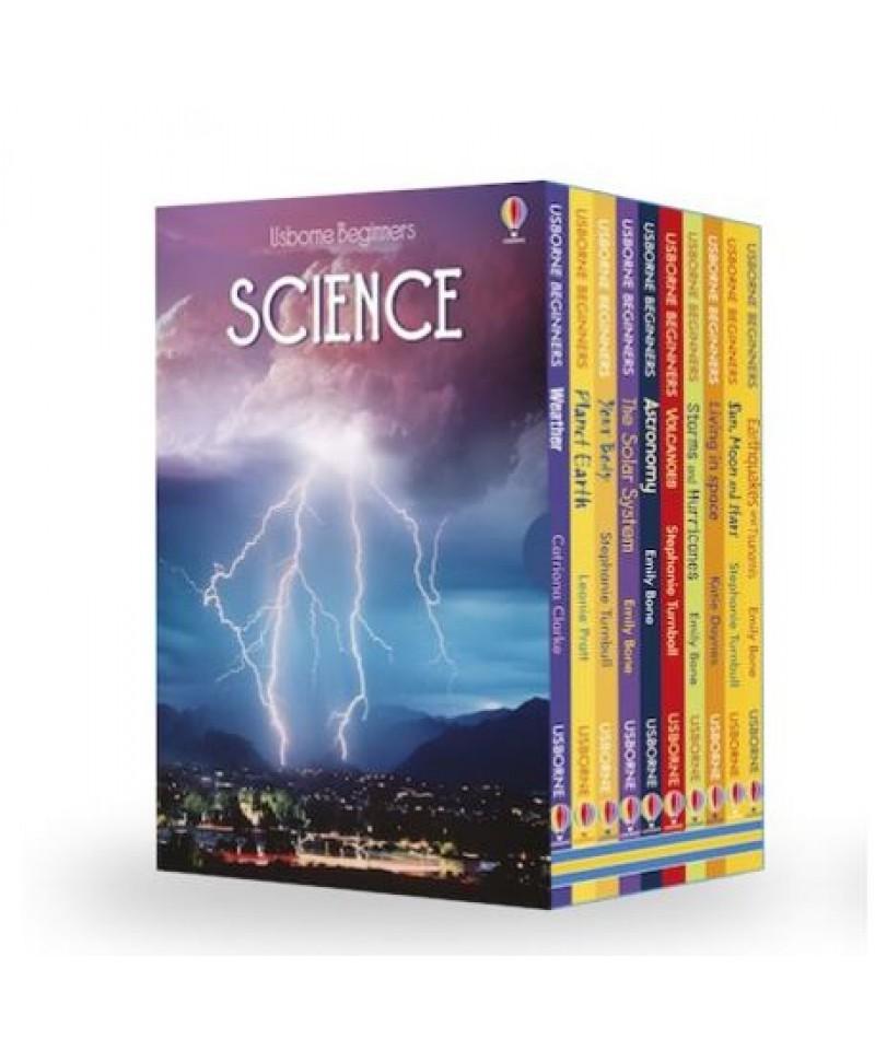 Set fabulos 10 cărți cu tematică științifică  Usborne Beginners Science