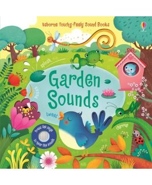 Carte cu sunete din grădină Garden Sounds Usborne