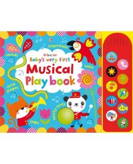Carte senzoriala si muzicala Baby's very first Musical playbook