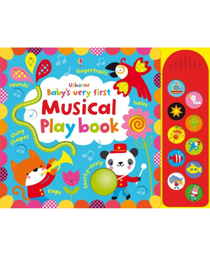 Carte senzoriala si muzicala Baby's very first Musical playbook