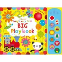 Carte muzicală și senzorială Baby's very first Big playbook