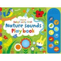 Carte muzicală și senzorială Baby's very first Nature Sounds playbook