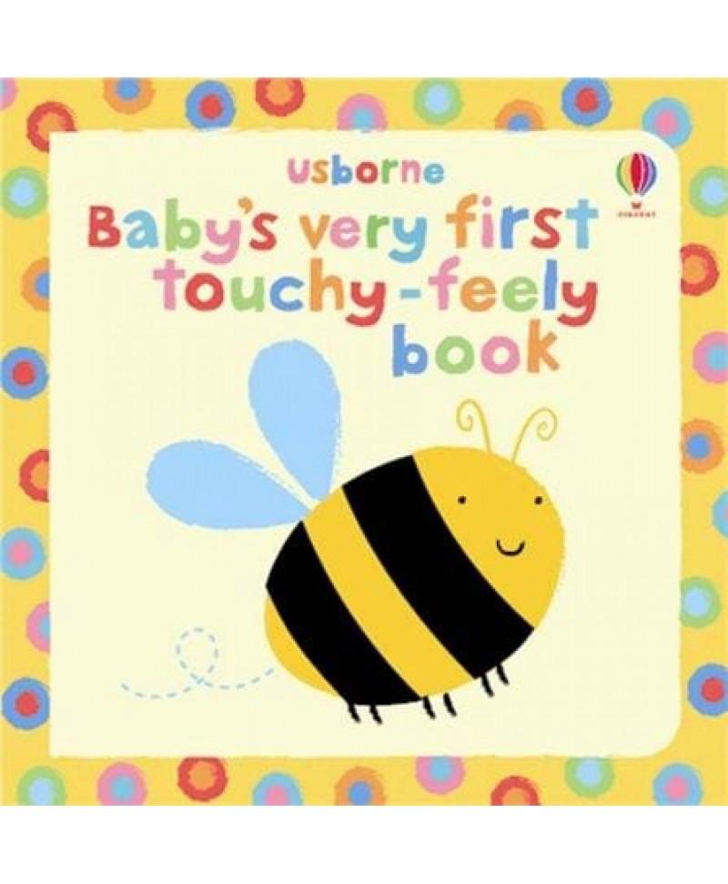 Carte senzorială pentru bebeluși mici Baby's very first touchy-feely book