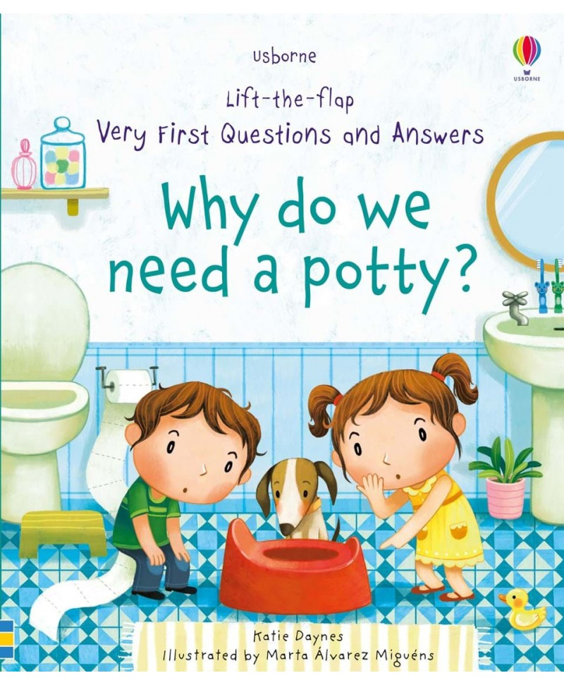 De ce avem nevoie de oliță? Why do we need a potty?