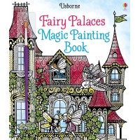 Carte cu pictură magică Fairy palaces magic painting book