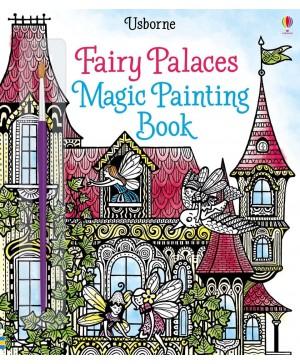 Carte cu pictură magică Fairy palaces magic painting book