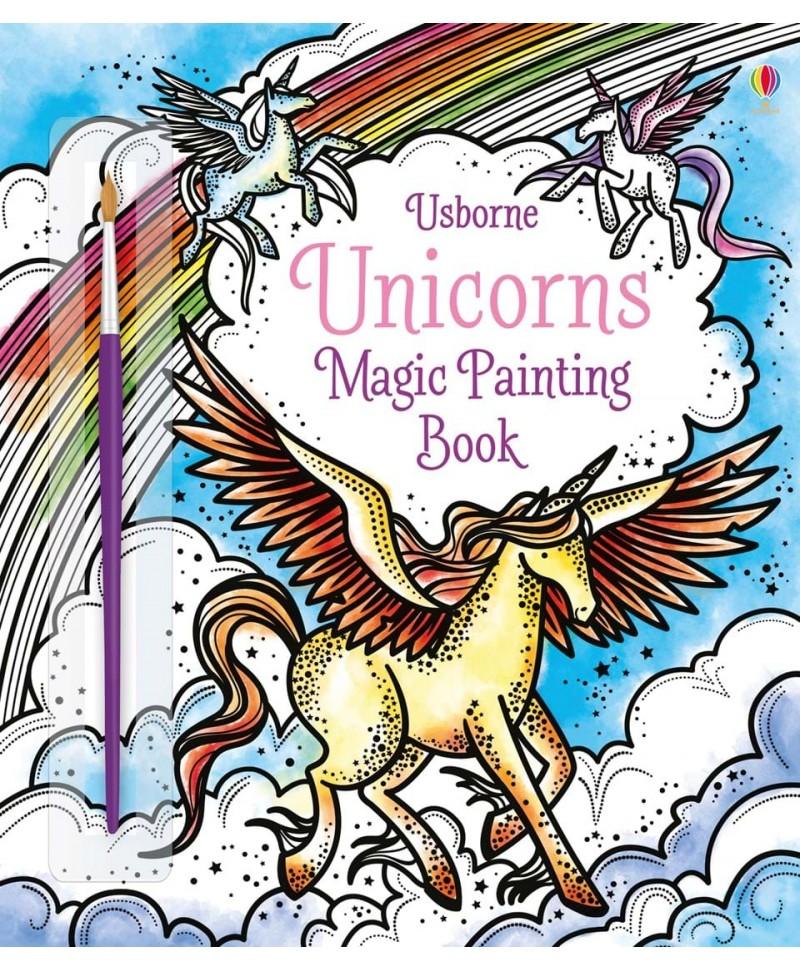 Carte cu pictură magică Unicorns Magic Painting