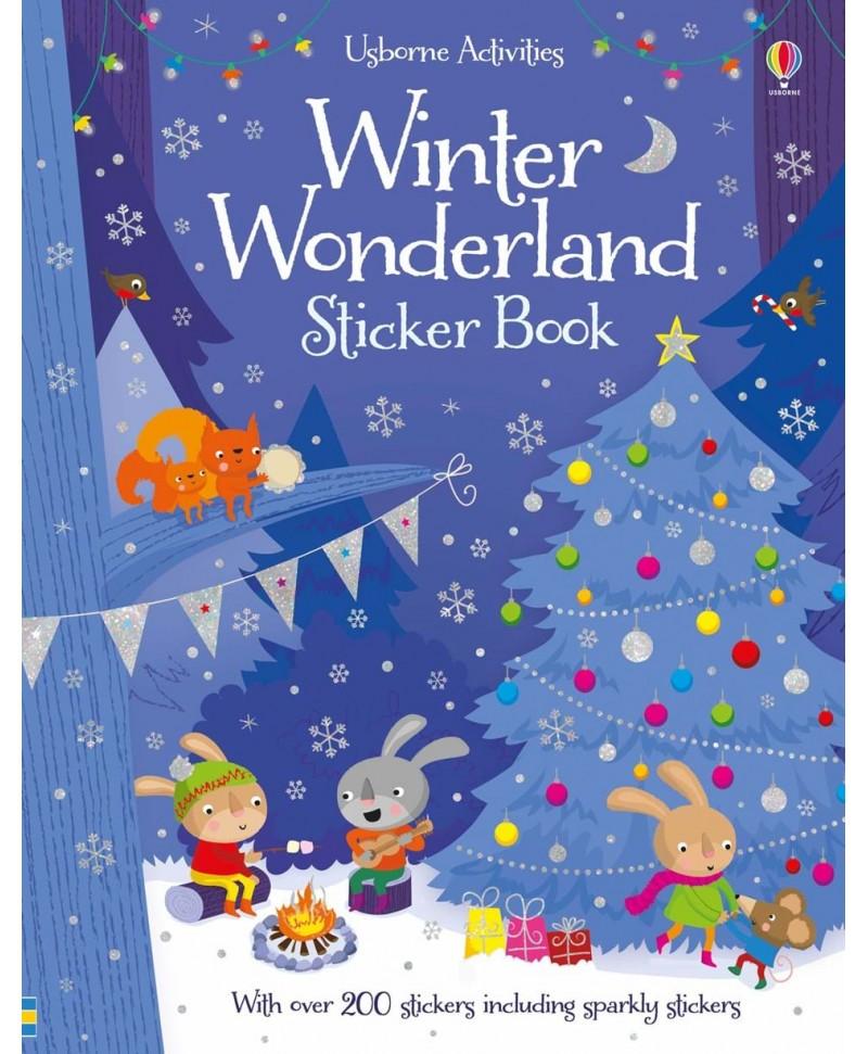 Carte cu stickere Winter Wonderland sticker book