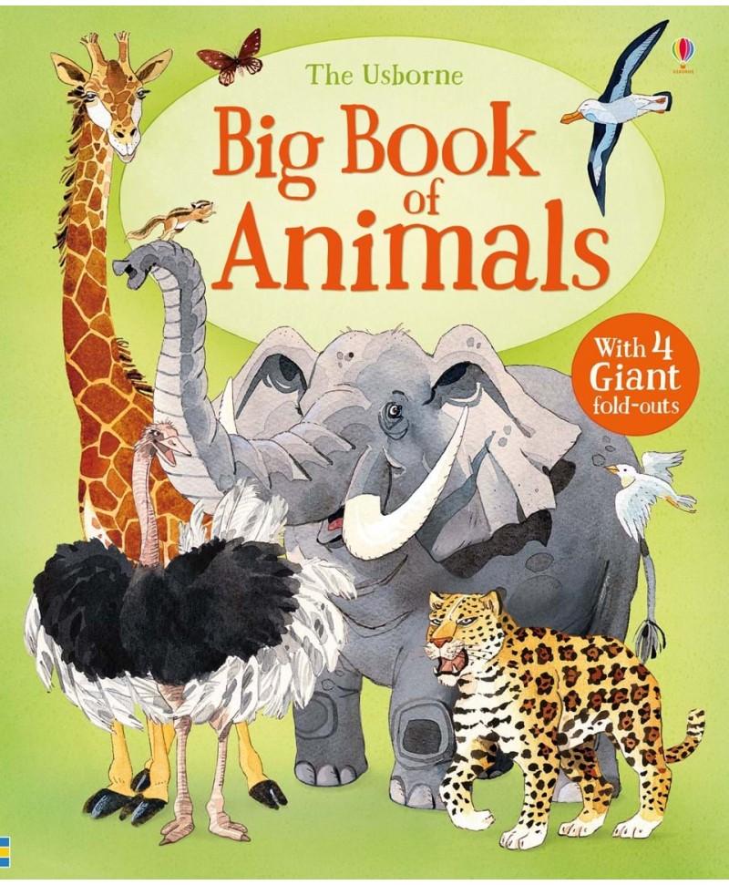 Marea carte a animalelor- Big book of Animals Usborne