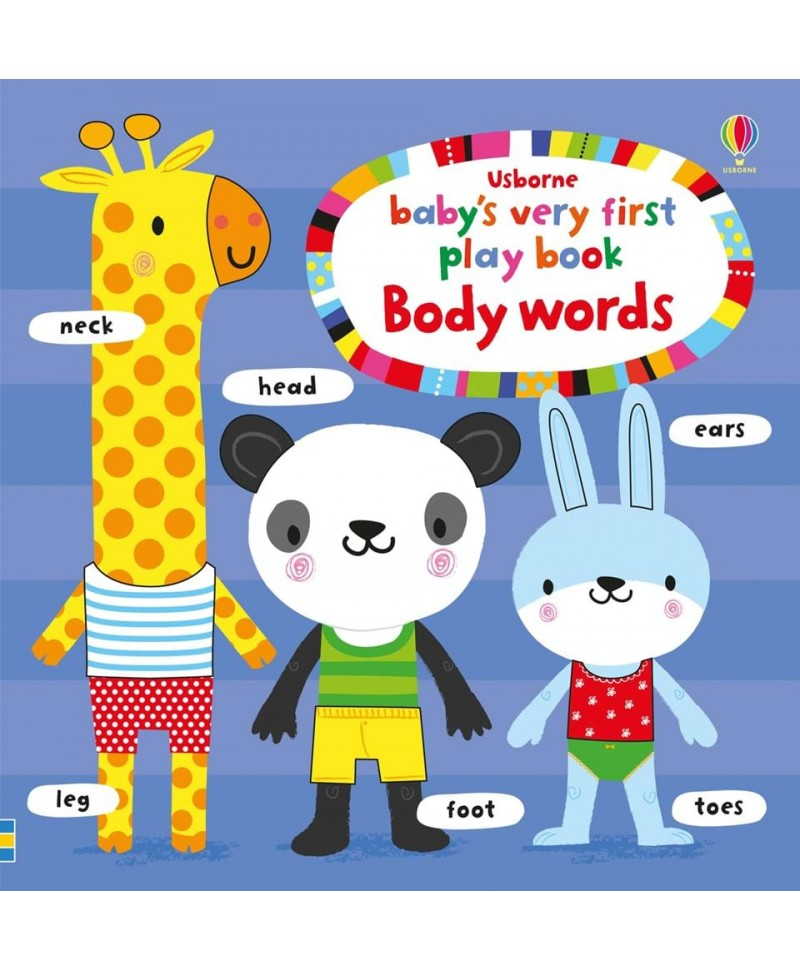 Primele cuvinte Baby's very first play book BODY words
