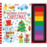 Carte de pictat cu degețelele Fingerprint activities Christmas