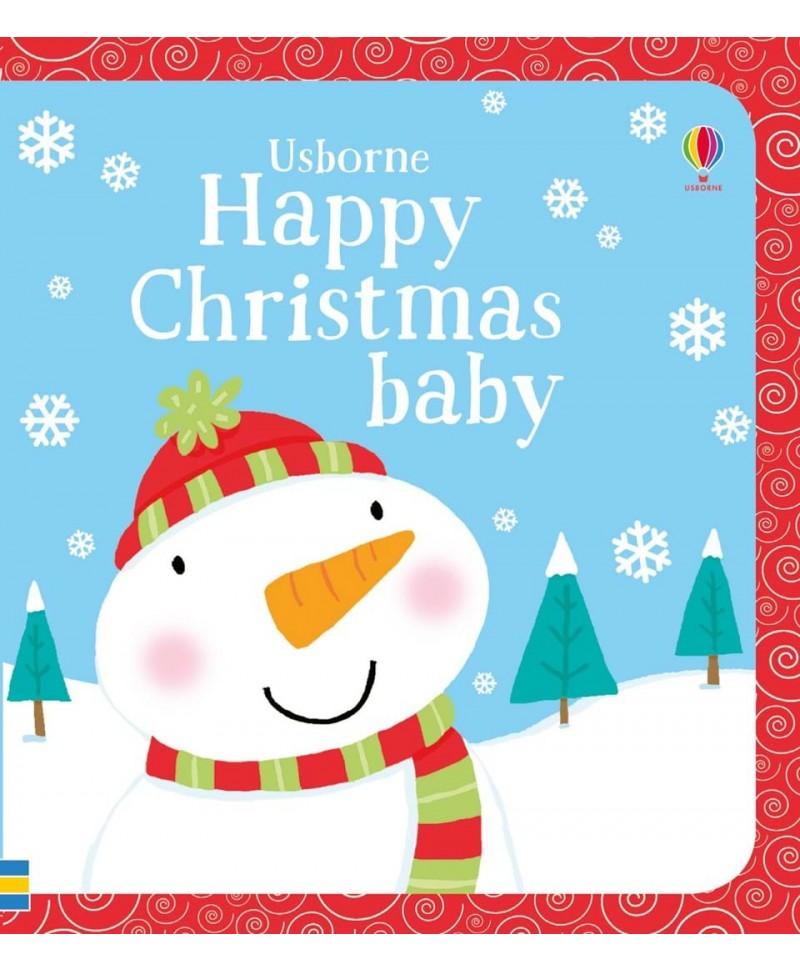 Carte gros cartonată Happy Christmas baby