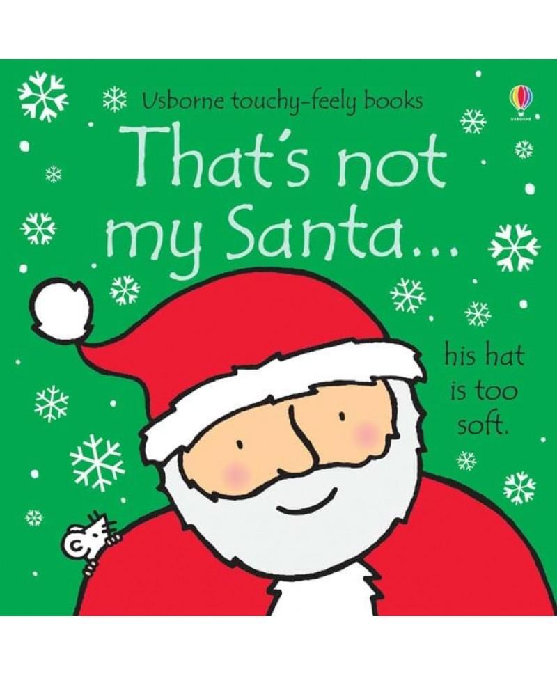 Carte senzorială cu Moș Crăciun That's not my Santa +6l