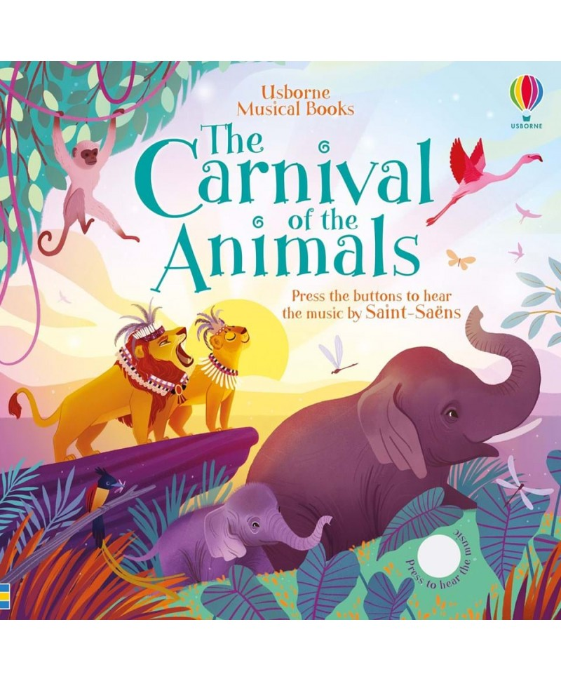 Carte muzicală Carnavalul animalelor - The Carnival of the Animals