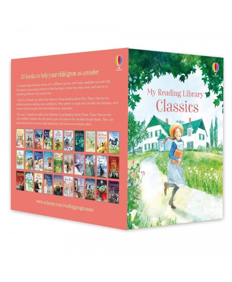 Colecție 30 cărți cu povești clasice My Reading Library Classics