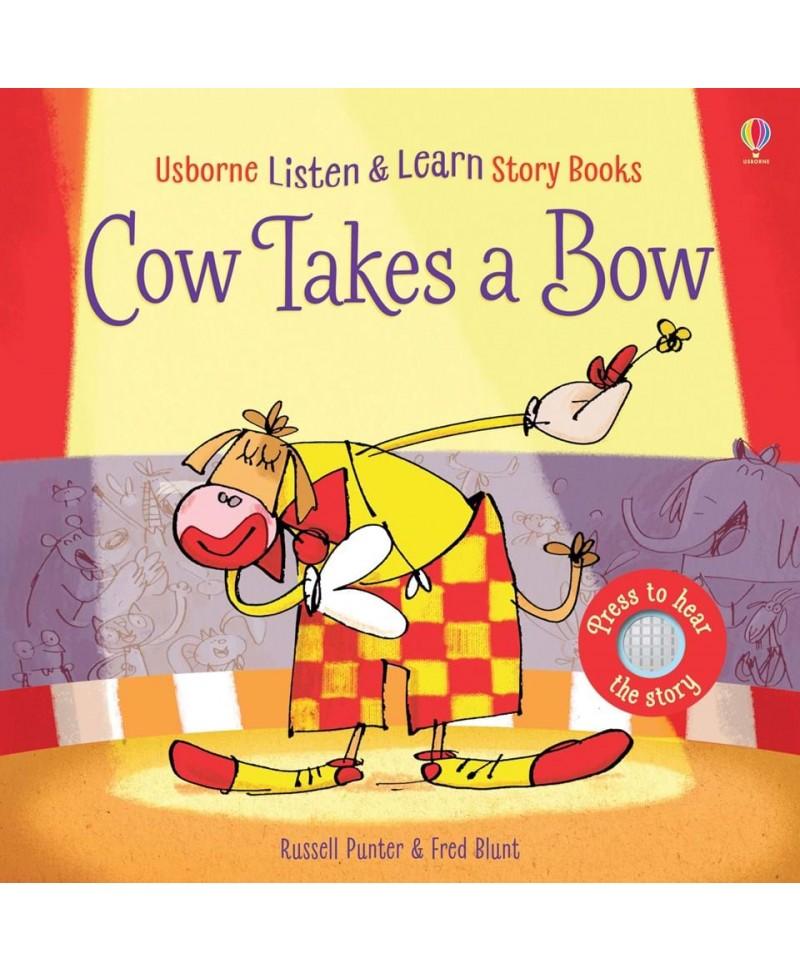 Carte audio Cow takes a bow  - atingi paginile si se aude povestea