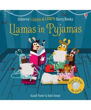 Carte audio Llamas in pyjamas  - atingi paginile si se aude povestea